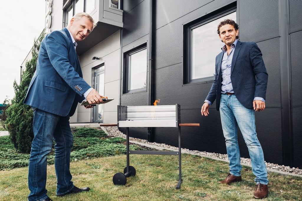 Tadeusz Redmann i Mariusz Czechowski